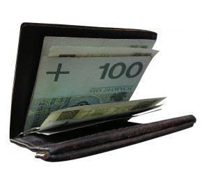portfel z bankontami 100 zł